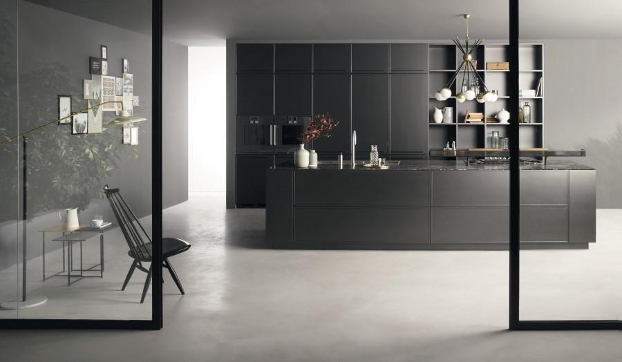La cucina total black